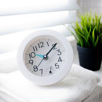 kitchen clocks sink prices 厨房座钟 型号 厨房座钟型号 规格 京东 简约温湿度计现代浴室钟防水静音家用厨房钟表仿生吸盘创意迷你