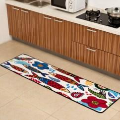 Area Rugs For Kitchen Open Island 津美家厨房地毯吸水防滑垫长条卡通时尚日韩卧室床边地毯图案5 40x160厘米 津美家厨房地毯吸水防滑垫长条卡通时尚日韩卧室床
