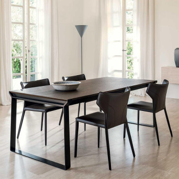 chairs for kitchen table damascus steel knife set 铁艺餐桌椅组合现代简约实木家用小户型家具6人长方形北欧餐桌黑色餐桌1 3 铁艺餐桌椅组合现代简约实木家用小户型家具6人长方形北欧