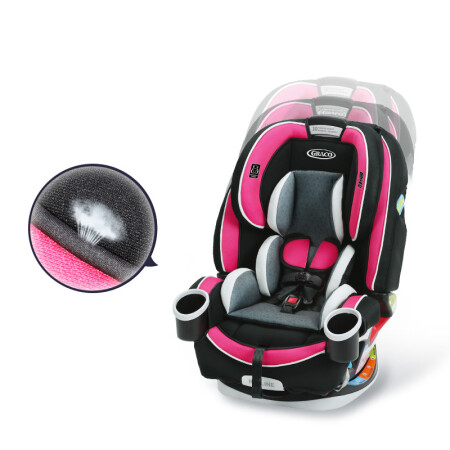 美國原版 Graco葛萊4ever 進口嬰兒寶寶0-12歲 兒童安全座椅汽車用 正反安裝ISOFIX ..【圖片 價格 品牌 報價】-京東