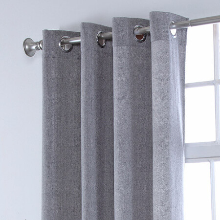 grommet kitchen curtains home depot appliances 美国直邮belle maison窗帘悬挂杆人字形索环面板 图片价格品牌报价 京东 索环厨房窗帘