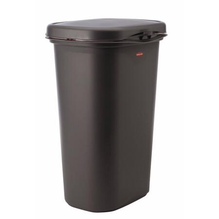 13 gallon kitchen trash can engineered wood flooring 美国直邮rubbermaid 弹簧开合式垃圾桶13加仑linerlock春季垃圾桶 gal