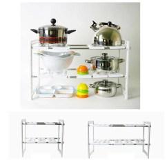 Under Kitchen Sink Storage Commercial Island Extendable Customize Shelf Organize