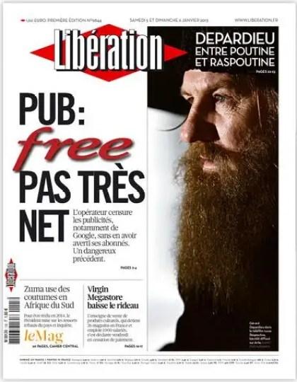 Libération Samedi 5 et dimanche 6 janvier 2013