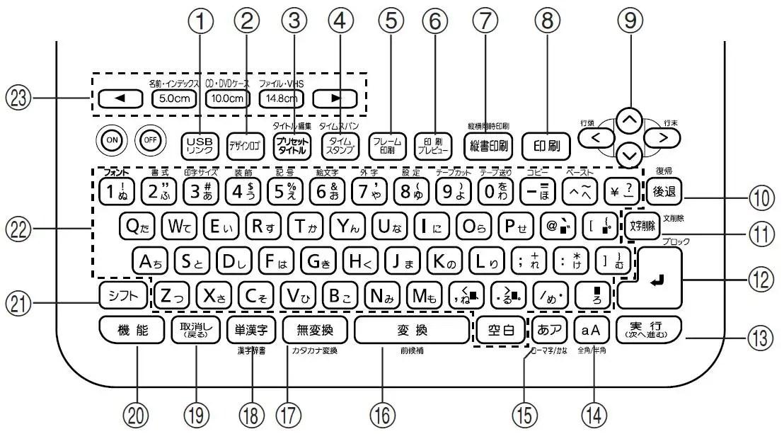 CASIO Name Land BiZ KL-V450 Electronic Label Printer