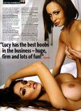 Lucy Pinder and Chanelle Hayes - Naked! - Nuts Magazine - UHQ Scans - Hot Celebs Home