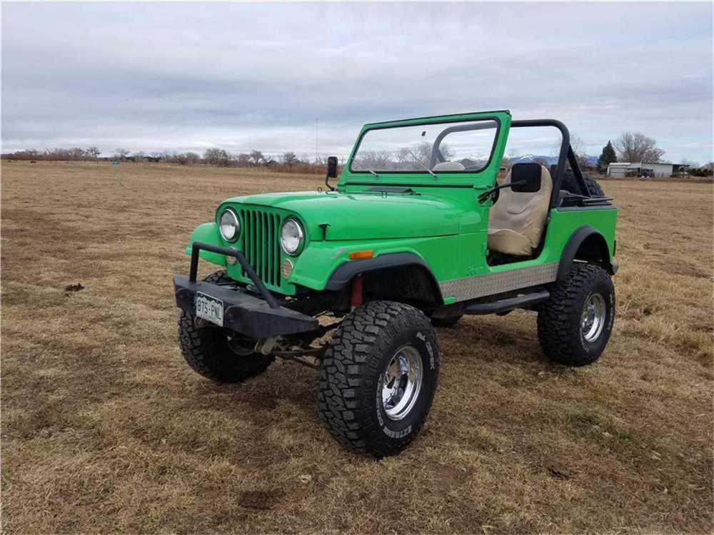 medium resolution of 1982 jeep cj7