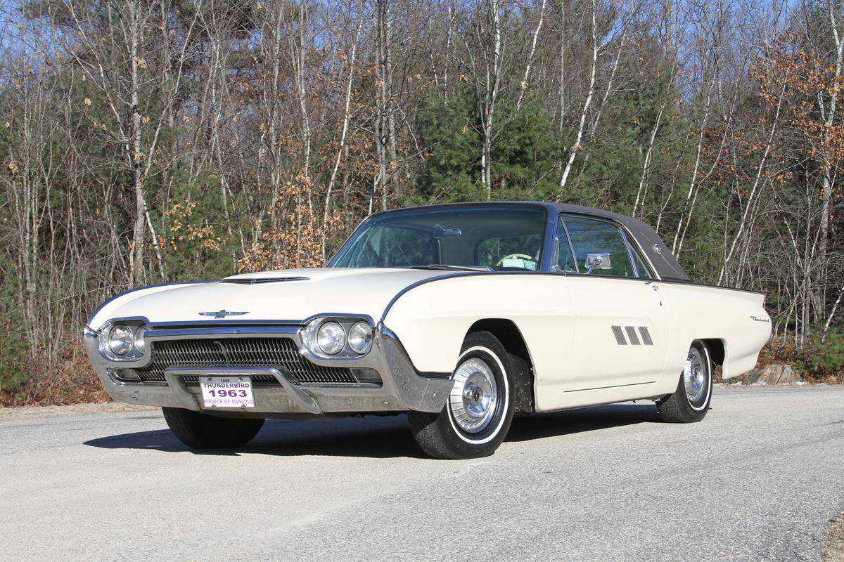 hight resolution of 1963 ford thunderbird