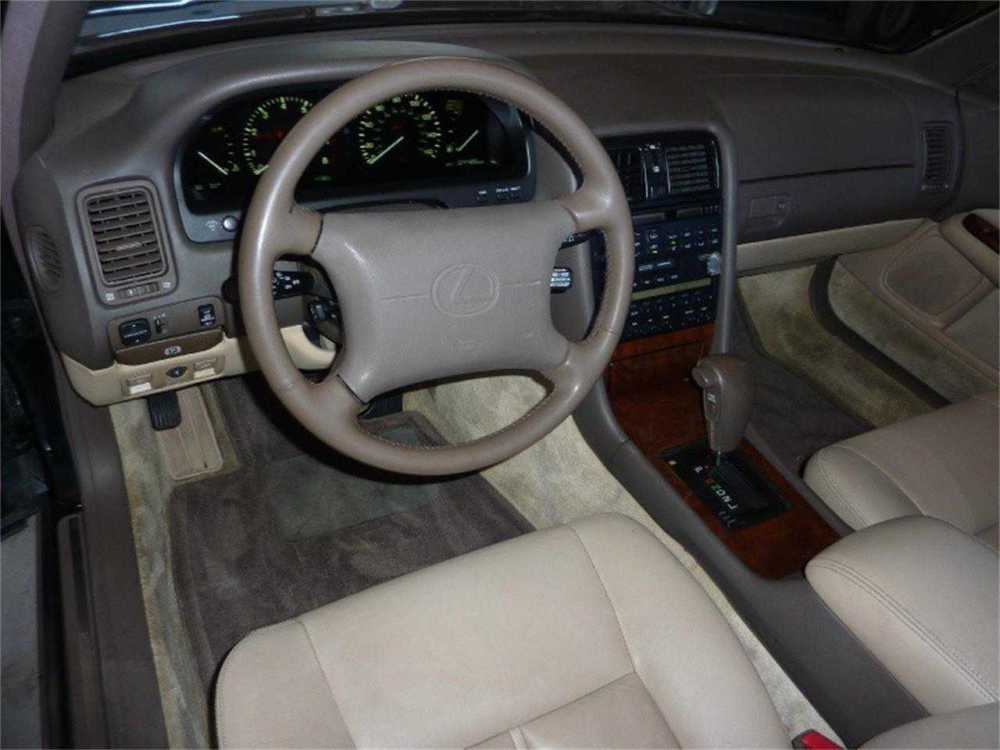medium resolution of 1993 lexus ls400