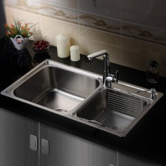 Stainless Steel Kitchen Faucets Mobile Islands 厨房洗菜池水龙头怎么拆 _排行榜大全