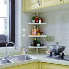 Kitchen Aid Range Cabinet Knobs And Handles 宝优妮厨房置物架调味架调料架子置物架调味品架调味料架601c三层使用范围 宝优妮厨房置物架调味架调料架子置物架调味品架调味
