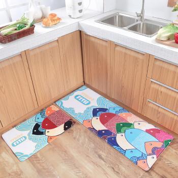 kitchen carpet sets refurbished cabinets for sale 夏浪卡通地垫门垫进门地毯卧室家用厨房长条脚垫卫生间吸水浴室防滑垫子年 夏浪卡通地垫门垫进门地毯卧室家用厨房长条脚垫