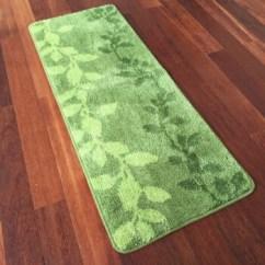 Green Kitchen Mat Drawers 叶子绿叶长条耐脏厨房垫吸水地垫可水洗玄关地毯地垫毛毯地垫绿色叶子 叶子绿叶长条耐脏厨房垫吸水地垫可水洗玄关地毯地