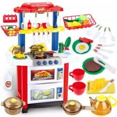 Little Girl Kitchen Sets Remodel How To 贝比谷儿童过家家厨房玩具套装煮饭做饭蛋糕餐具模型男孩小女孩3 6岁益智 贝比谷儿童过家家厨房玩具套装煮饭做饭蛋糕餐具
