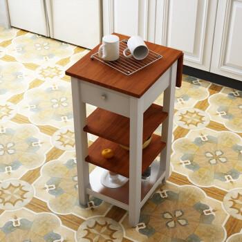 folding kitchen cart epoxy countertops 限时特惠 厨房切菜桌可折叠桌子可移动推车置物架厨房45x40x90折叠20 厨房切菜桌可折叠桌子可移动推车置物