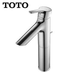 Kitchen Pull Down Faucet Center Island Table Toto龙头高把龙头tls01307b 桌上盆用高脚龙头单孔单柄双控冷热水龙头含上 桌上盆用高脚龙头单孔单