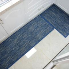 Blue Kitchen Rugs Styles Of Cabinets 华德厨房地垫入户门垫脚垫可定制厨房地毯条纹耐脏吸水防滑地垫蓝色586 华德厨房地垫入户门垫脚垫可定制厨房地毯条纹耐
