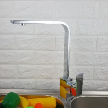 wholesale kitchen faucets decorative towels 直销四方冷热水厨房龙头360 可旋转洗菜盆龙头混水龙头批发四方菜盆龙头 可旋转洗菜盆龙头混
