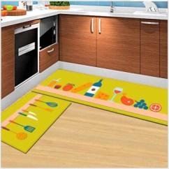 Yellow Kitchen Rugs Kohler Faucets 厨房地垫卫生间门垫卧室床边毯超柔地毯可机洗水洗黄色餐具60 90 60 180cm 厨房地垫卫生间门垫卧室床边毯超柔地毯可机洗