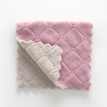 gray kitchen towels showrooms sacramento 阿斯卡利 ascari 创意吸水洗碗布加厚擦桌布毛巾厨房不沾油清洁抹布擦 创意吸水洗碗布加厚擦桌布