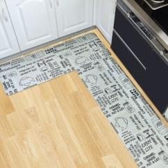 Kitchen Floor Mats Cabinets Manufacturers 意尔嫚地垫 意尔嫚厨房地垫防油防水防滑pvc长条地垫厨房浴室专用脚垫门 意尔嫚厨房地垫防油防水防滑pvc长条地垫厨房