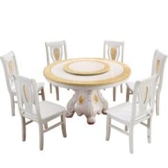 White Round Kitchen Table Smudge Proof Stainless Steel Appliances 三包到家 白色餐桌椅组合餐厅大理石餐桌圆形吃饭桌子饭店餐桌1米2 人造 白色餐桌椅组合餐厅大理石餐桌圆形吃饭