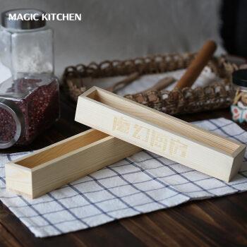 wood mode kitchens double kitchen doors 魔幻厨房烘焙工具蔓越莓饼干模木制饼干整形器压模长方形木框饼干盒做饼干 魔幻厨房烘焙工具蔓越莓饼干模木制饼干整形器压模