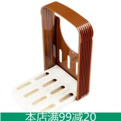 Kitchen Bakers Rack Espresso Pantry Inomata 日本进口面包切片器切面包器厨房吐司切割架烘焙小工具面包切片架 日本进口面包切片器切面包器厨房吐司切割架烘焙小