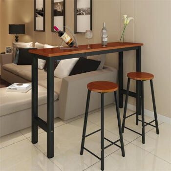 sears kitchen tables counter stools with backs 欧仕堂简约吧台桌餐桌家用靠墙吧台桌咖啡桌酒吧高脚桌子厨房架吧台黑框 欧仕堂简约吧台桌餐桌家用靠墙吧台桌咖啡桌酒吧高脚桌子