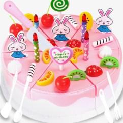 Little Girl Kitchen Sets Wood Hoods 儿童过家家生日蛋糕玩具宝宝仿真厨房水果切切乐小女孩玩具礼物 实惠版 儿童过家家生日蛋糕玩具宝宝仿真厨房水果切切乐小女孩玩具