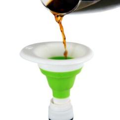 Kitchen Funnel Corner Cabinet Solutions 多功能硅胶漏斗伸缩漏斗厨房漏斗 图片价格品牌报价 京东 厨房漏斗