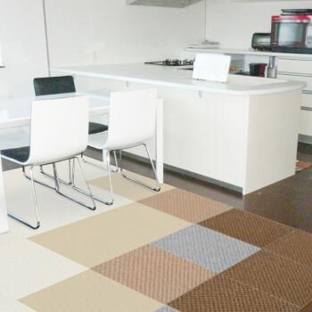 yellow kitchen rugs decoration ideas 厨房餐厅地毯免胶方块拼接门厅客厅卧室隔音防滑保暖ht109黄色 图片价格