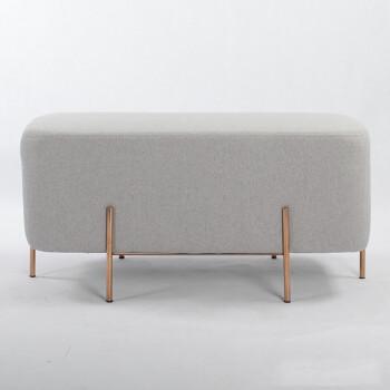 kitchen bench cushions daisy decor 霍客森elephant stool欧式布艺沙发凳长凳换鞋凳北欧创意休闲时尚客厅穿鞋 stool欧式布艺沙发凳长凳换鞋凳北欧创意