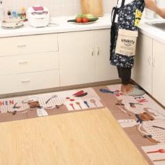 Small Kitchen Rugs How To Paint Cabinets Grey 华德进门地垫厨房地垫门垫脚垫浴室吸水防滑垫门口厨房地毯卡通小厨师45 华德进门地垫厨房地垫门垫脚垫浴室吸水防滑垫门口