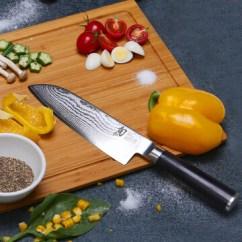 Damascus Kitchen Knives China Dishes Kai贝印旬刀厨房刀具旬刀菜刀大马士革钢三德刀dm 0702 价格 品牌 报价 1号店