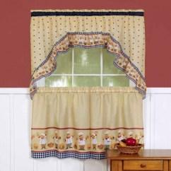 Swag Kitchen Curtains Teak Cabinets 美国直邮generic 厨房窗帘和赃物套装 Cucina 图片价格品牌报价 京东 赃物厨房窗帘