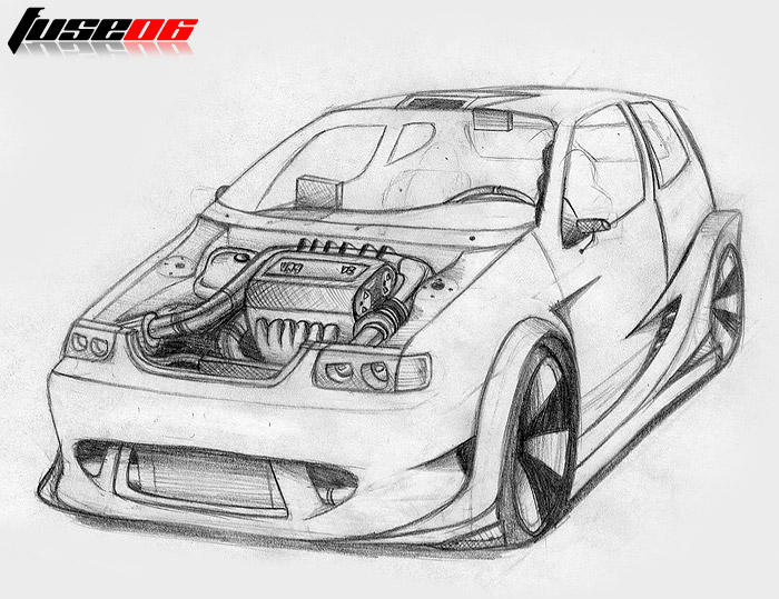 Volkswagen Polo Extreme by FuseEST on DeviantArt