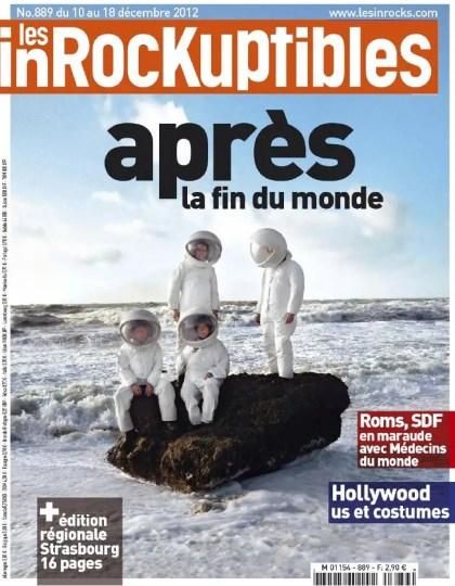 Les Inrockuptibles N°889 du 10 au 18 Décembre 2012