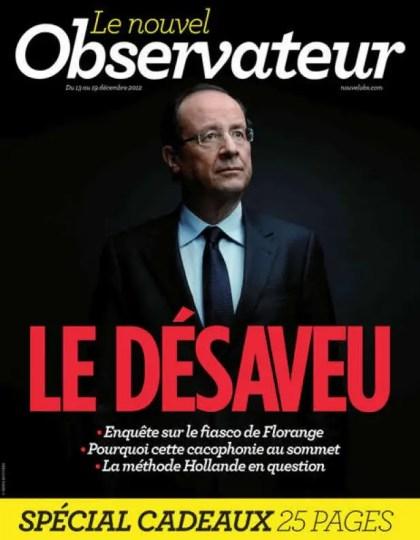Le Nouvel Observateur N°2510 du 13 au 19 Décembre 2012