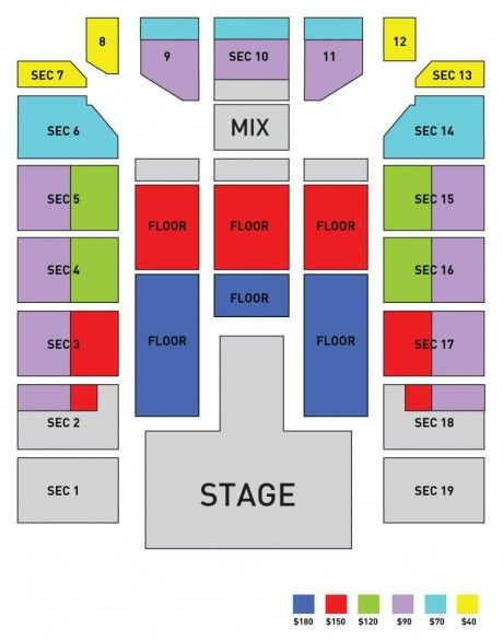 Powerhouse And Ticketmaster Reveal Seating Charts For Jyjs North