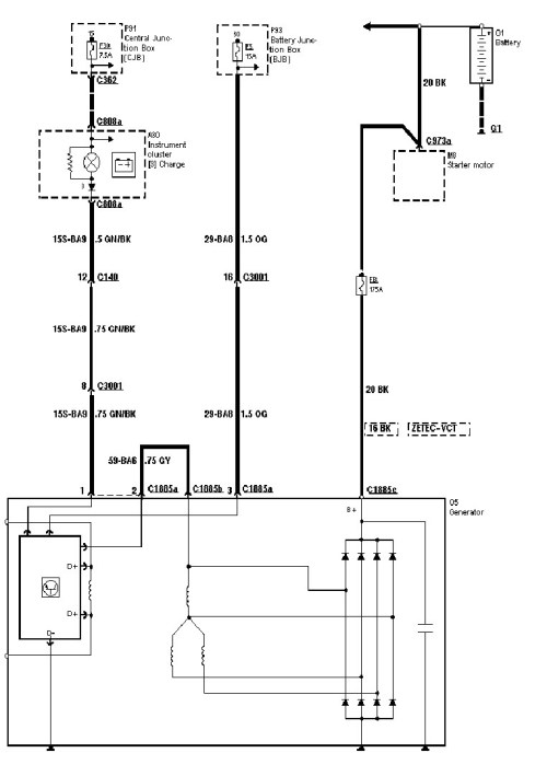 small resolution of alternator wiring help ls1tech camaro and firebird forum wiring diagram internal regulator alternator gm alternator wiring diagram 2010