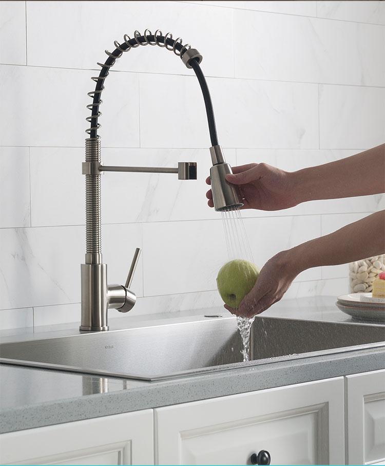 menards kitchen sink workstation kraus 美国克劳思克劳斯厨房水槽洗菜盆冷热水龙头全铜主体镀铬可抽拉可 检验报告