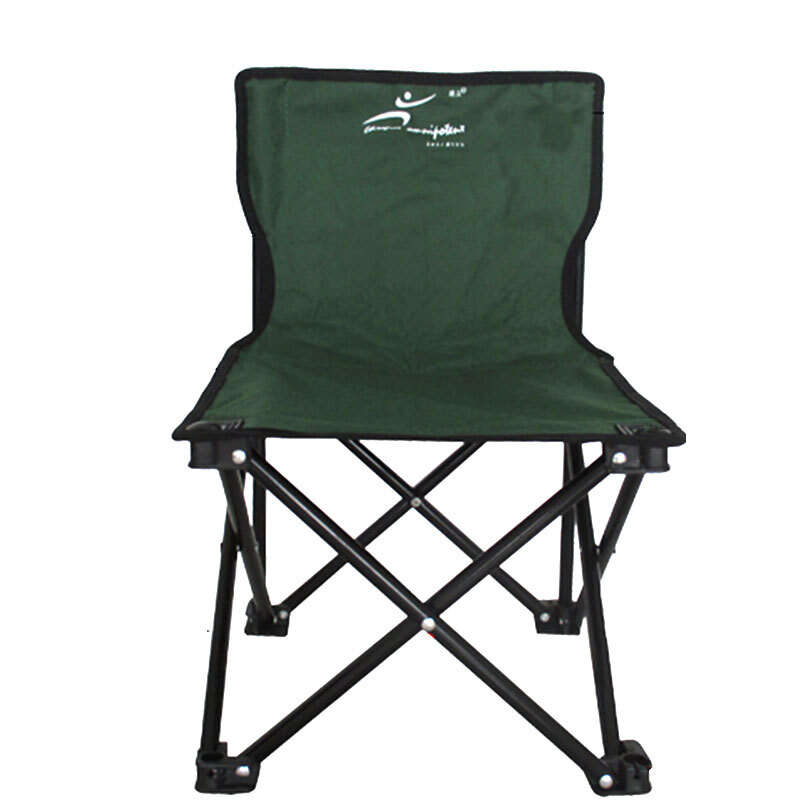 green fishing chair ikea poang covers ireland folding portable multi function thickening new lightweight seat gear supplies stool small army