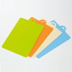 Kitchen Cutting Board Things Inomata 日本 可弯曲菜板 分类案板砧板 切菜板 4件套 一套4色【图片 价格 品牌 报价】-京东