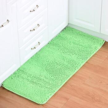green kitchen mat model kitchens 雪尼尔创意地垫门垫吸水浴室防滑垫脚垫子进门入户垫厨房垫脚踏垫果绿色40 雪尼尔创意地垫门垫吸水浴室防滑垫脚垫子进门入户