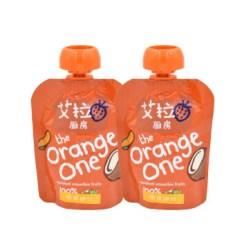 Kitchen Bags Cabinet Liners 艾拉厨房果泥 艾拉厨房橙色混合果泥90g 2袋 新老包装更替中请以收到 新老包装更替