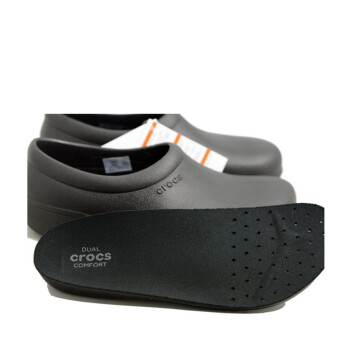 crocs kitchen shoes walmart decor 卡骆驰205073款克劳科工作鞋厨房医院专用工鞋黑色m5 230mm 图片 卡骆驰205073款克劳科工作鞋厨房医院专用工鞋