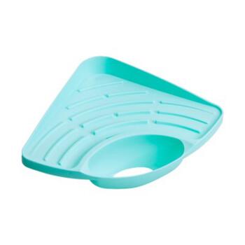 delta kitchen sinks cost of building a island 佐义咖 zuoyika 三角形厨房置物架水槽沥水架加厚塑料收纳架沥水篮整理 三角形厨房置物架水槽沥水架加厚塑料