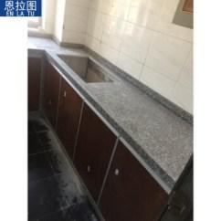 Black Kitchen Cabinet Pulls White Undermount Sink 恩拉图大理石系列厨柜整体橱柜 含门板 柜体 台面 顶柜350 黑色1米