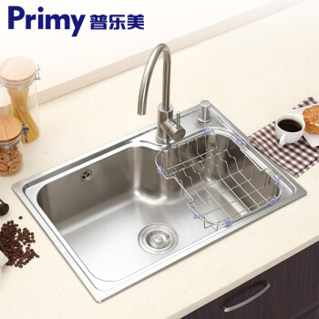 corner kitchen sink stove 普乐美primy 304不锈钢水槽大单槽套餐 厨房水池洗碗盆洗菜池洗菜 ...